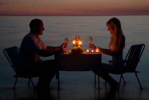 canstockphoto13222483 - Romantic Couple on beach